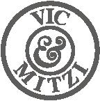 Vic & Mitzi logo